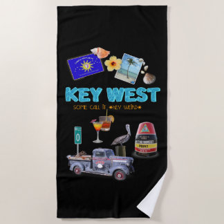 Serviette De Plage Key West
