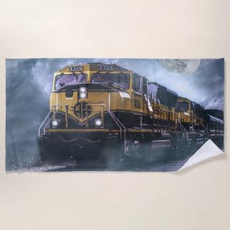 Serviette De Plage Locomotive