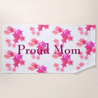 Serviette De Plage Maman fière