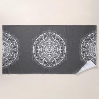 Serviette De Plage Mandala de lamantin