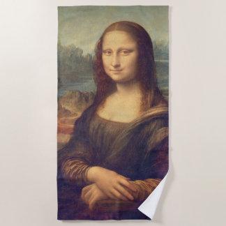 Serviette De Plage Mona Lisa par Leonardo da Vinci