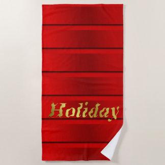 Serviette De Plage Plage, serviette, modèle, métier coloré, vacances,