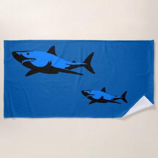 Serviette De Plage Requin blanc