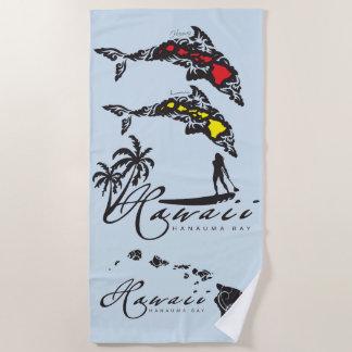 Serviette De Plage Surfer d'îles d'Hawaï