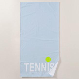 Serviette De Plage Tennis