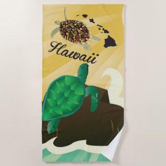 Serviette De Plage Tortue de Hawaiii