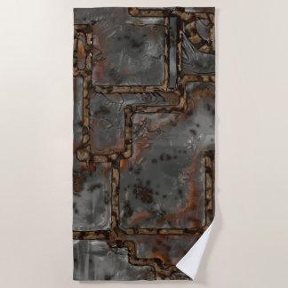 Serviette De Plage Vieux mur B en métal