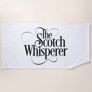 Serviette De Plage Whisperer écossais