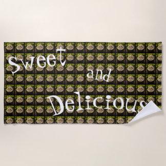 Serviette douce et délicieuse de petit gâteau