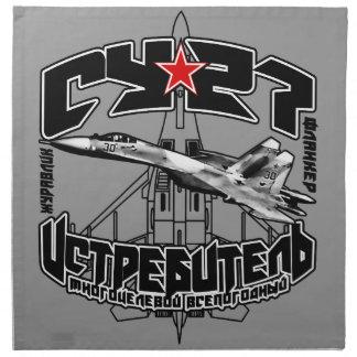 Serviette du tissu Su-27 (Су-27)