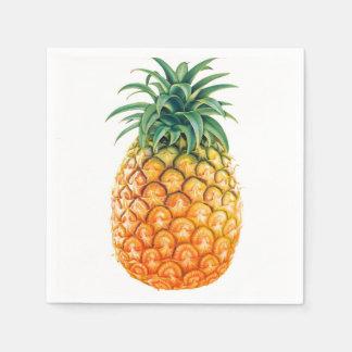 Serviette En Papier Ananas