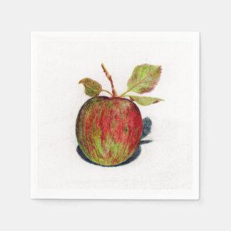 Serviette En Papier Apple