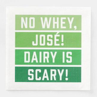 Serviette En Papier Aucun journal intime de Jose de petit lait n'est