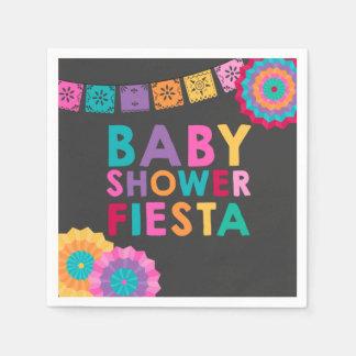 Serviette En Papier Baby shower de Mexicain de serviette de baby