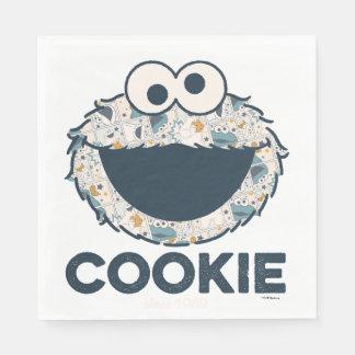 Serviette En Papier Biscuit du monstre | de biscuit depuis 1969
