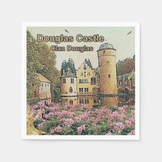 Serviette En Papier Château de Douglas, Seat de clan Douglas,