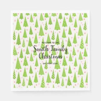 Serviette En Papier Christmas appelé par famille