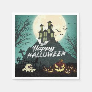 Serviette En Papier Ciel nocturne hanté éffrayant Halloween de costume