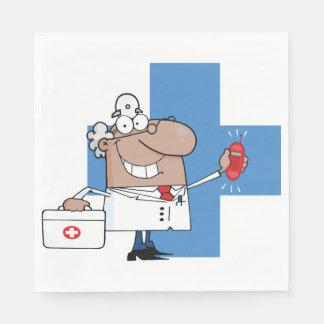 Serviette En Papier Docteur drôle serviettes de papier en service