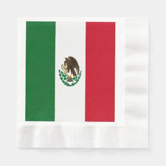 Serviette En Papier Drapeau du Mexique