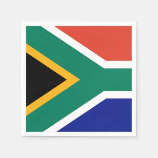 Serviette En Papier Drapeau sud-africain