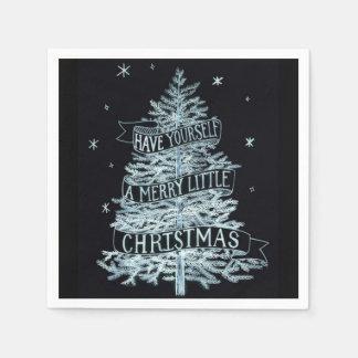 Serviette En Papier D'un Joyeux petit serviettes de papier Noël, 2