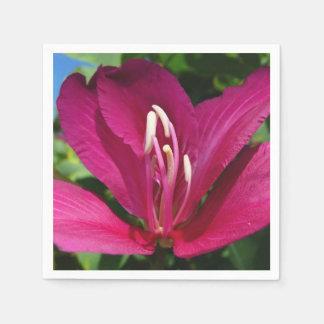 Serviette En Papier Fleur d'arbre d'orchidée