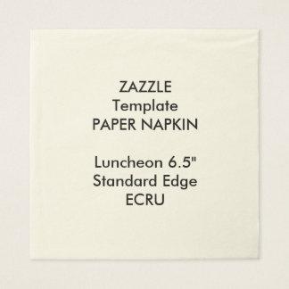Serviette En Papier Grand modèle fait sur commande de papier de