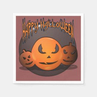 Serviette En Papier Halloween heureux
