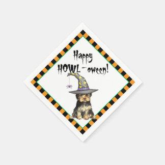 Serviette En Papier Halloween Yorkie