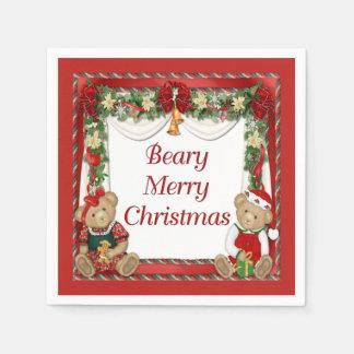 Serviette En Papier Joyeux Noël de Beary