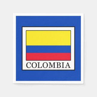 Serviette En Papier La Colombie
