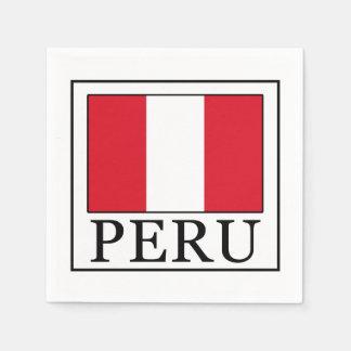 Serviette En Papier Le Pérou