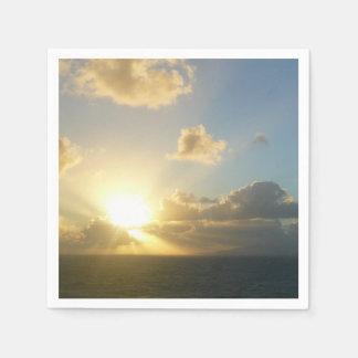Serviette En Papier Lever de soleil au-dessus de San Juan II Porto