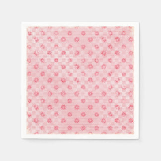 Serviette En Papier Limonade rose
