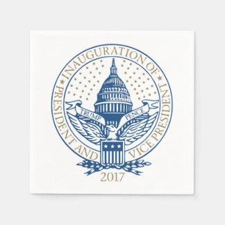 Serviette En Papier Logo 2017 présidentiel de penny d'atout