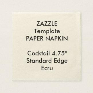 Serviette En Papier Modèle fait sur commande de serviette de papier de