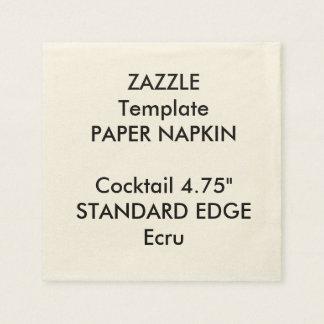Serviette En Papier Modèle simple fait sur commande de serviette de