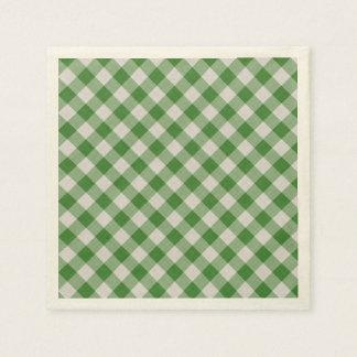 Serviette En Papier motif coloré géométrique de coton