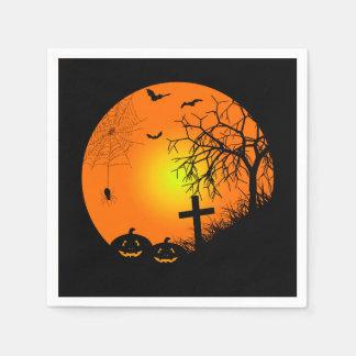 Serviette En Papier Nuit de Halloween
