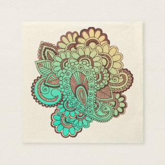 Serviette En Papier Paisley ornemente I + votre backgr. et idées