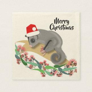 Serviette En Papier Planeur de sucre de bébé de Noël