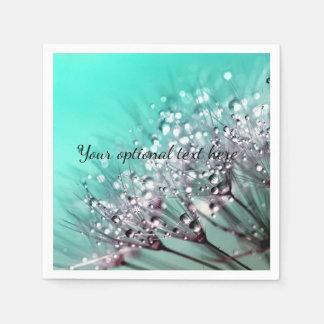 Serviette En Papier Plaque à papier de fleur de bonsaïs de cactus