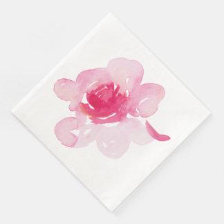 Serviette En Papier Première serviette rose