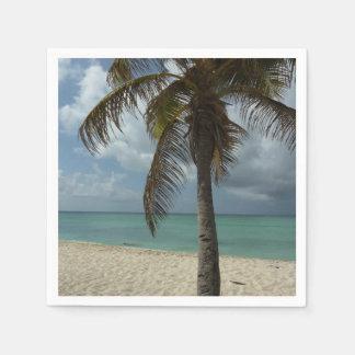 Serviette En Papier Scène de nature de la plage I d'Aruban belle