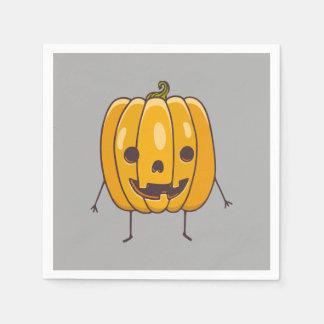 Serviette En Papier Serviette de papier de citrouille de Halloween