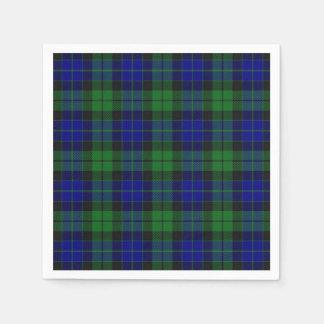 Serviette En Papier Serviette écossaise de tartan de MacKay de clan