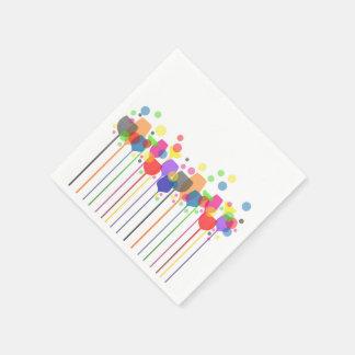 Serviette En Papier Serviettes de conception en verre de cocktail
