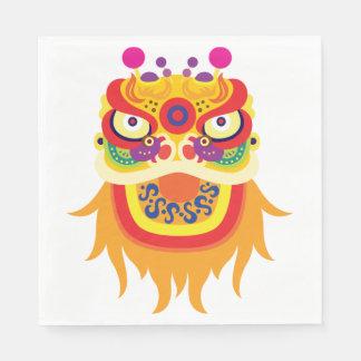 Serviette En Papier Serviettes de papier de caractère chinois de