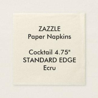 Serviette En Papier Serviettes de papier de cocktail simple fait sur
